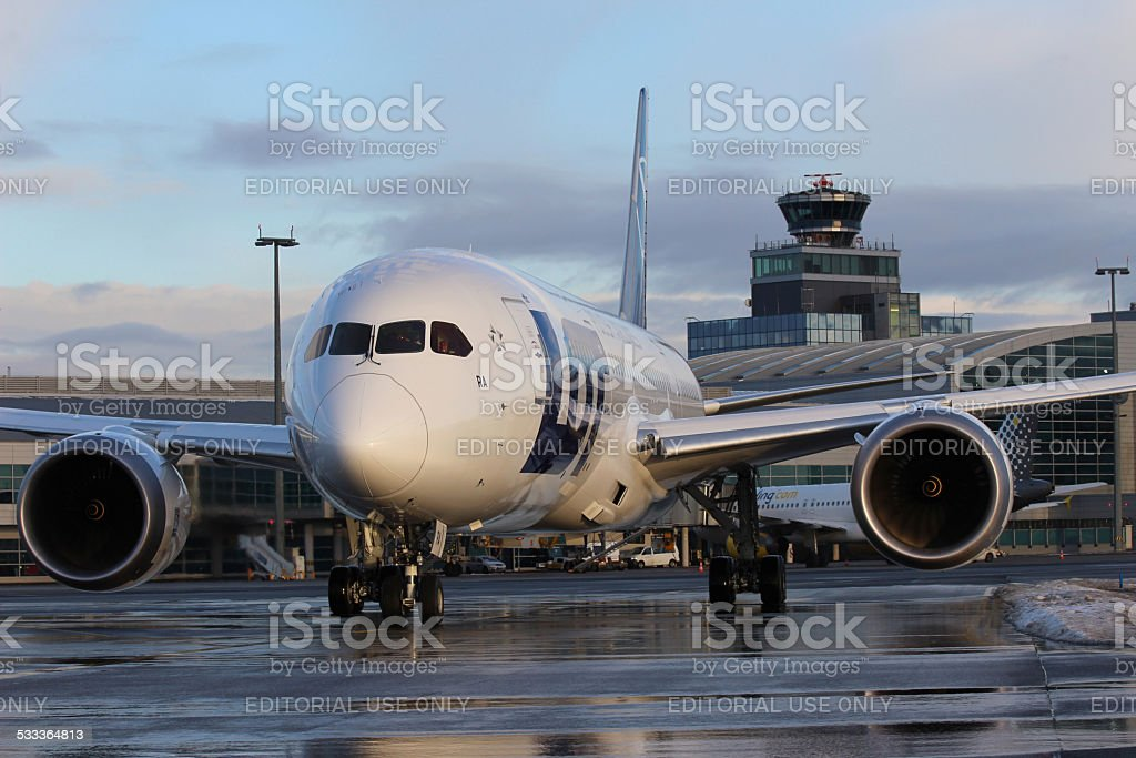 LOT Polish Airlines stock photo
