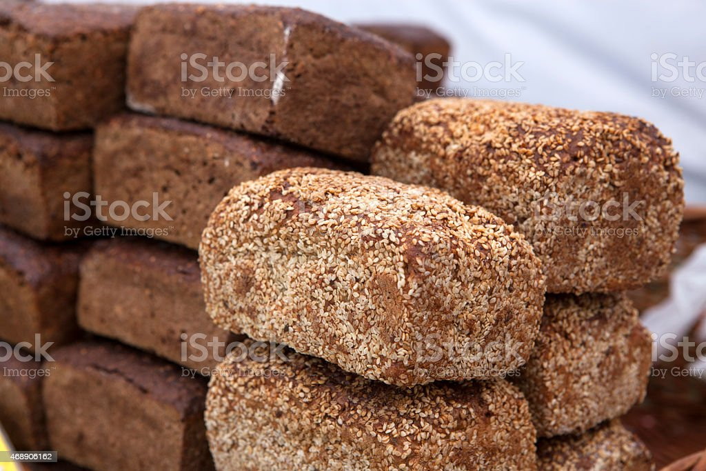 Polish bread stock photo