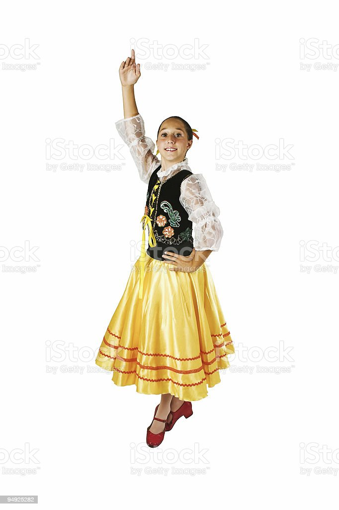 Polish Dance royalty-free stock photo