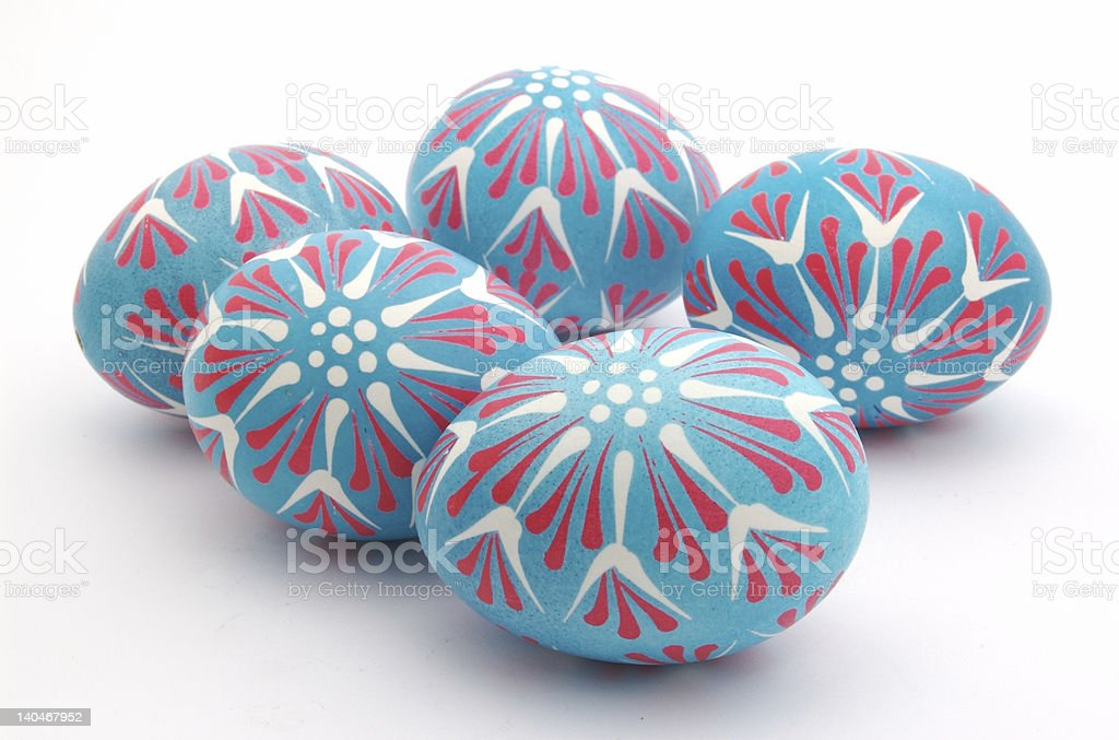 Polish Easter Eggs 1 royalty-free stock photo