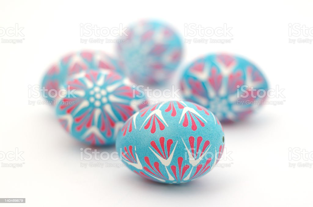 Polish Easter Eggs 2 royalty-free stock photo