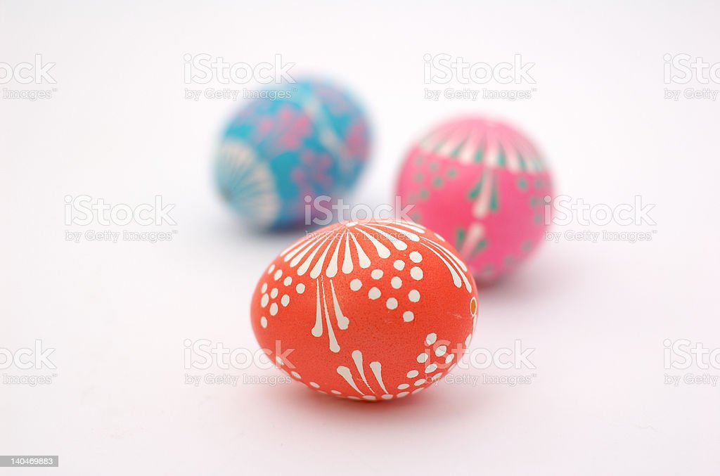 Polish Easter Eggs 4 royalty-free stock photo
