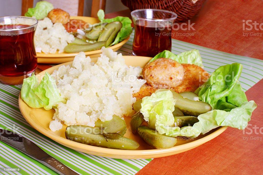polish meal royalty-free stock photo