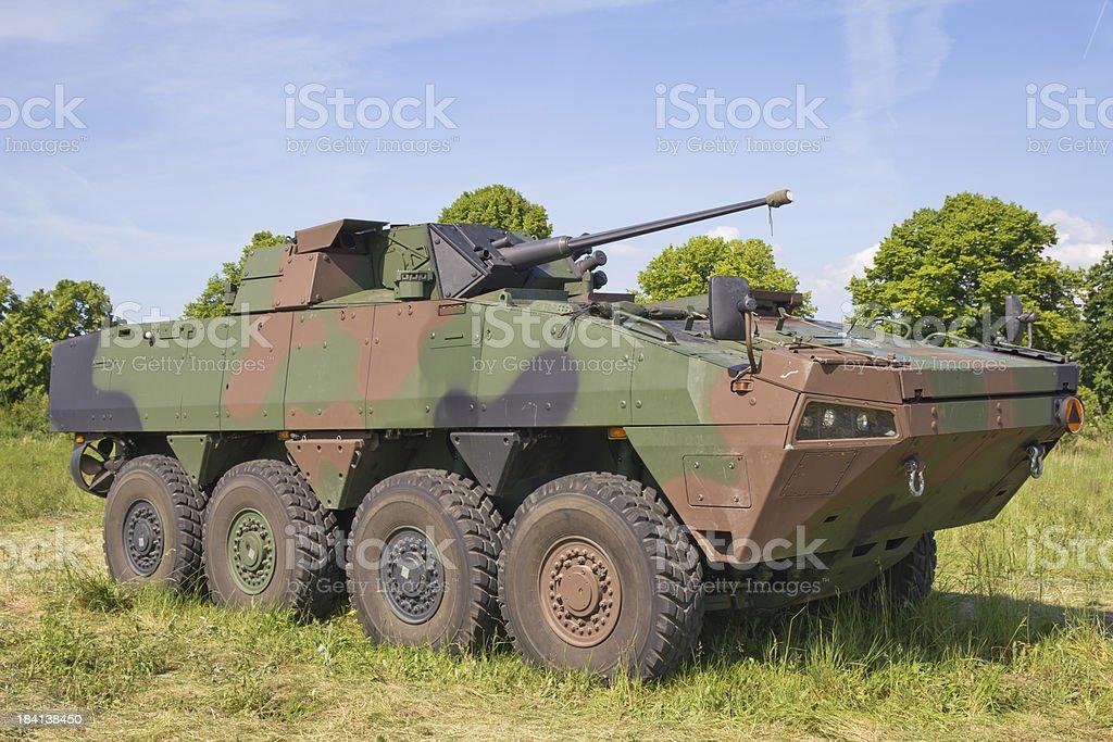 Polish military battlefield transport vehicle royalty-free stock photo