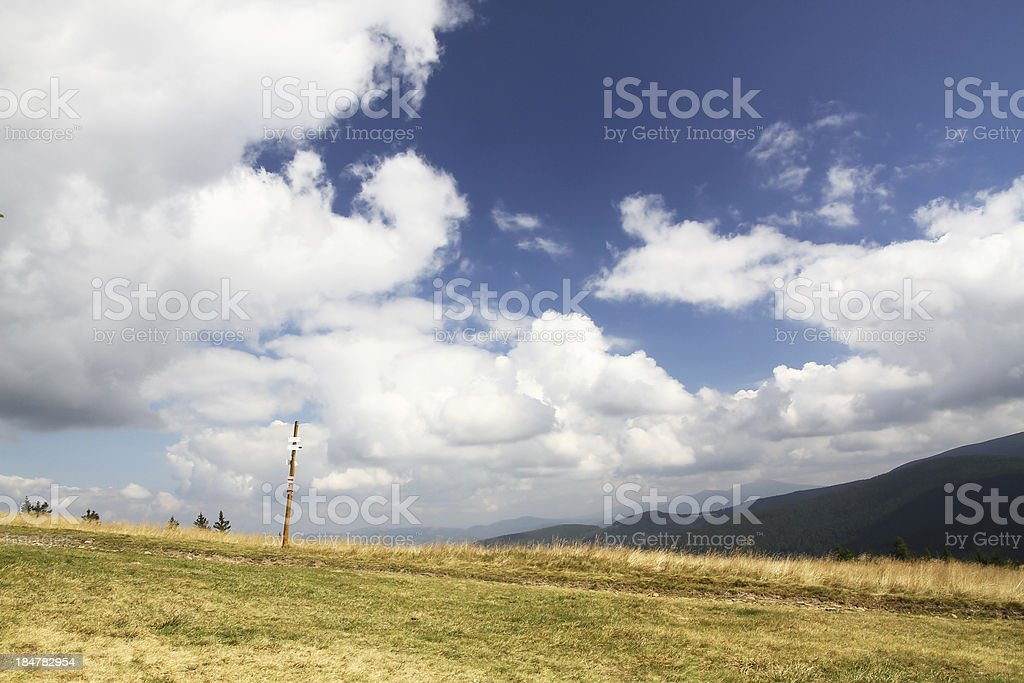 Polish mountains royalty-free stock photo