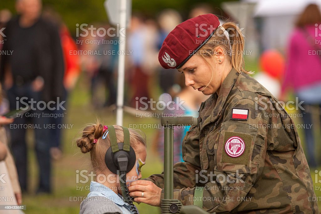 Polish national and public holiday the Constitution Day May stock photo