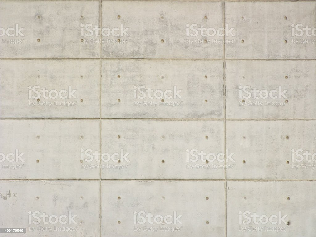Polished cement wall as background stock photo