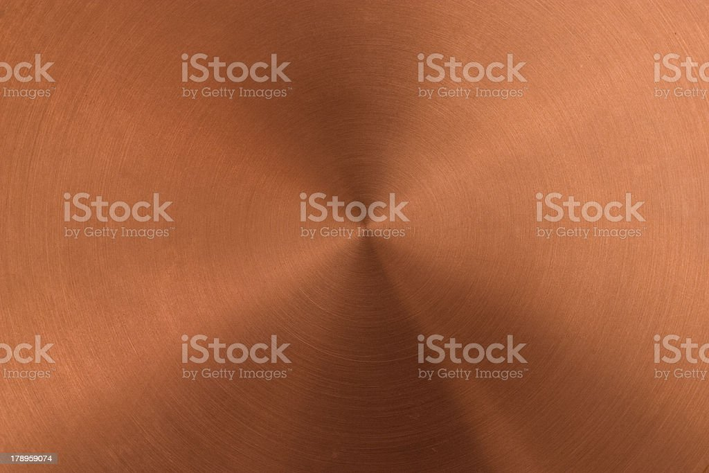 polished copper surface royalty-free stock photo