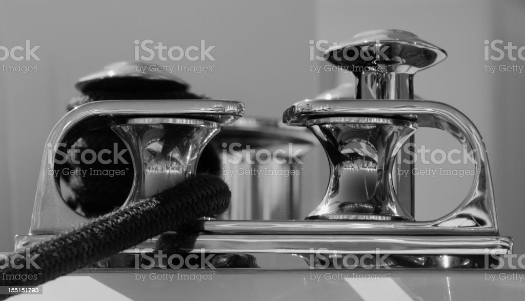 Polished Fairleads stock photo