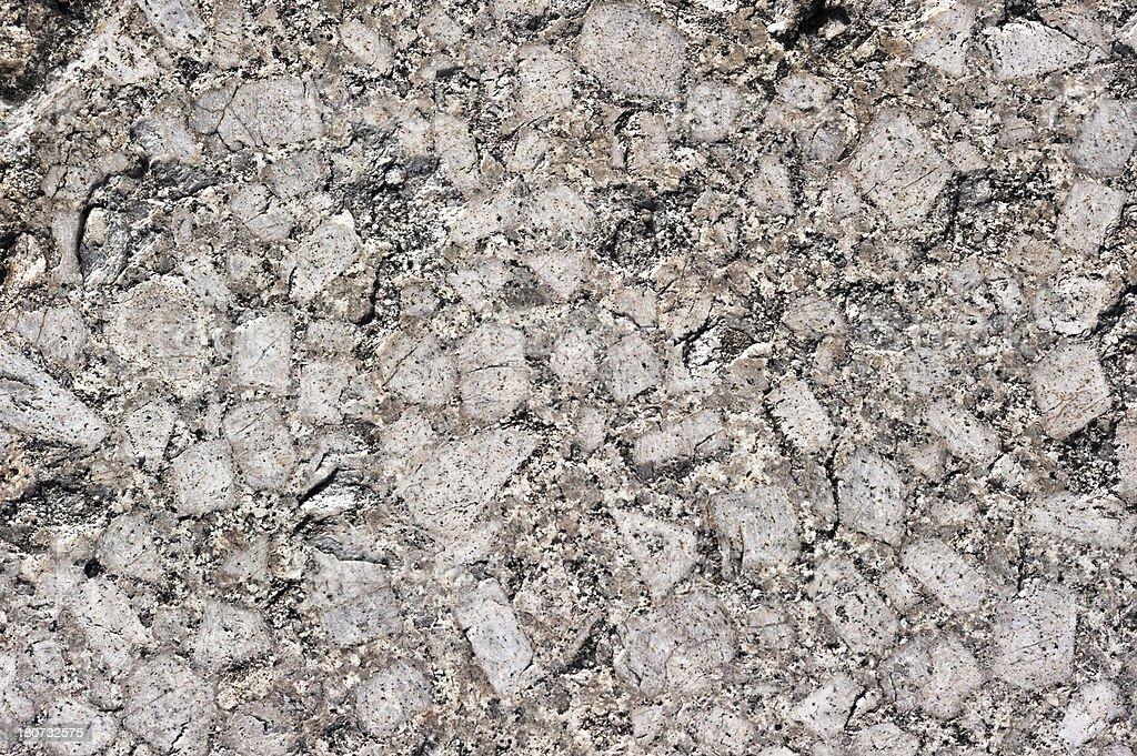 Polished granite stock photo