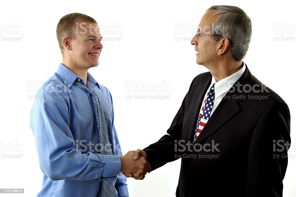 Political Agreement royalty-free stock photo