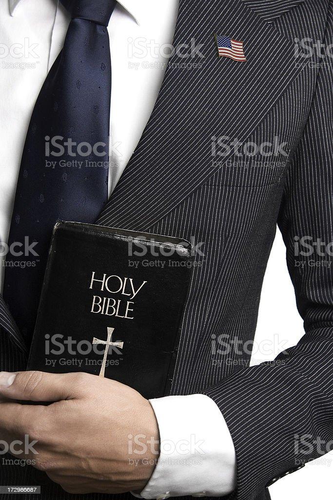 Political Bible stock photo