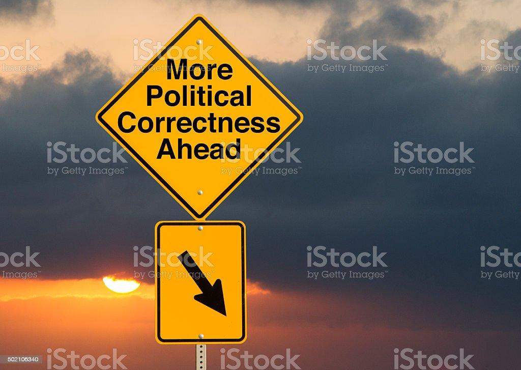 Political Correctness stock photo