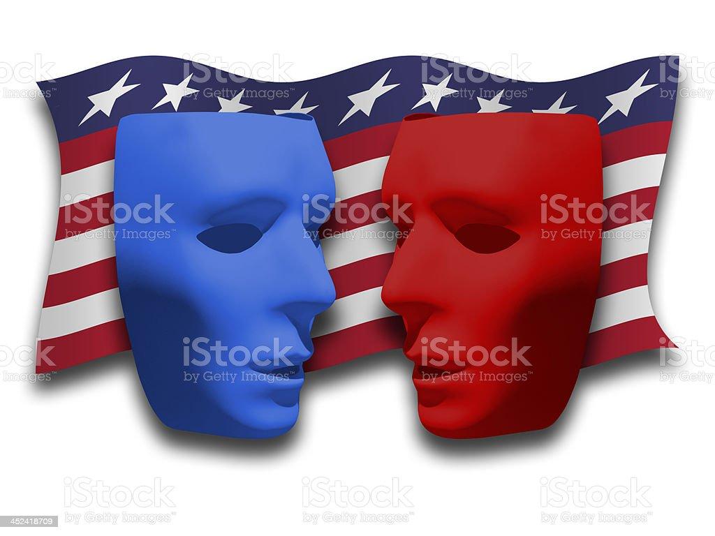 Political Debate No 2 stock photo