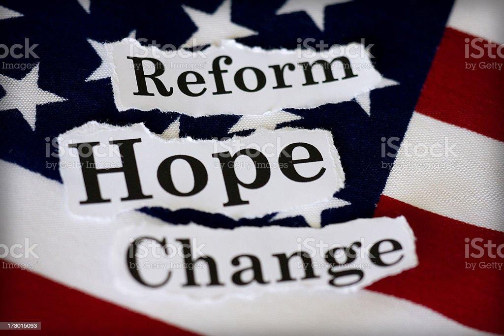political hope stock photo