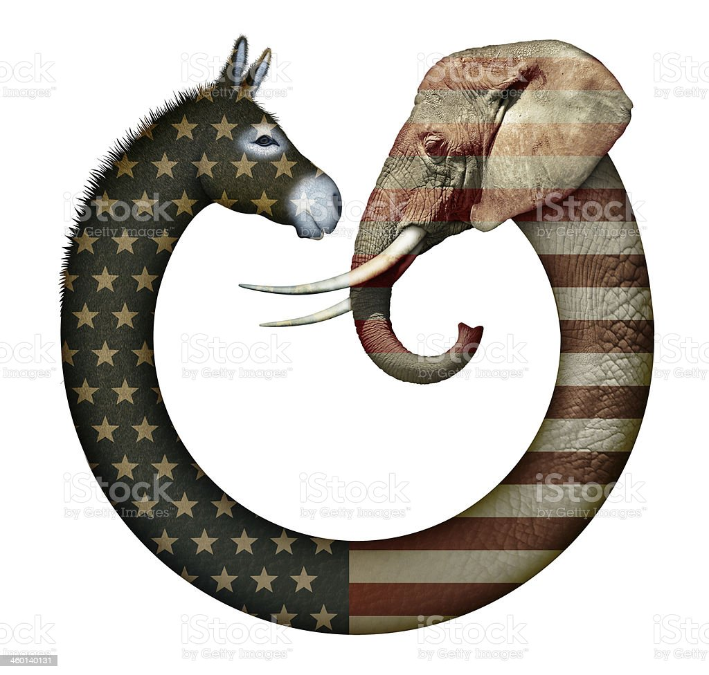 Political Party Animals stock photo