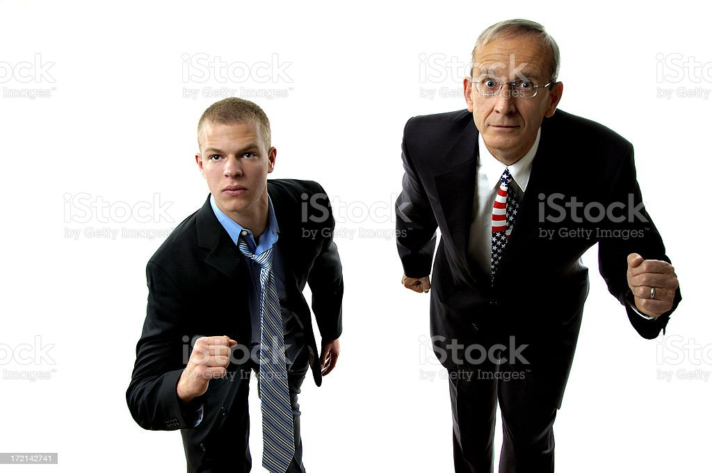 Political Race royalty-free stock photo