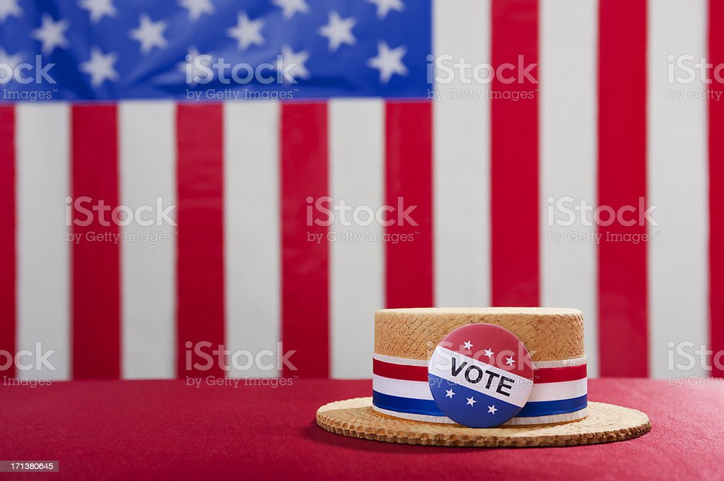 Political Rally - Vote stock photo