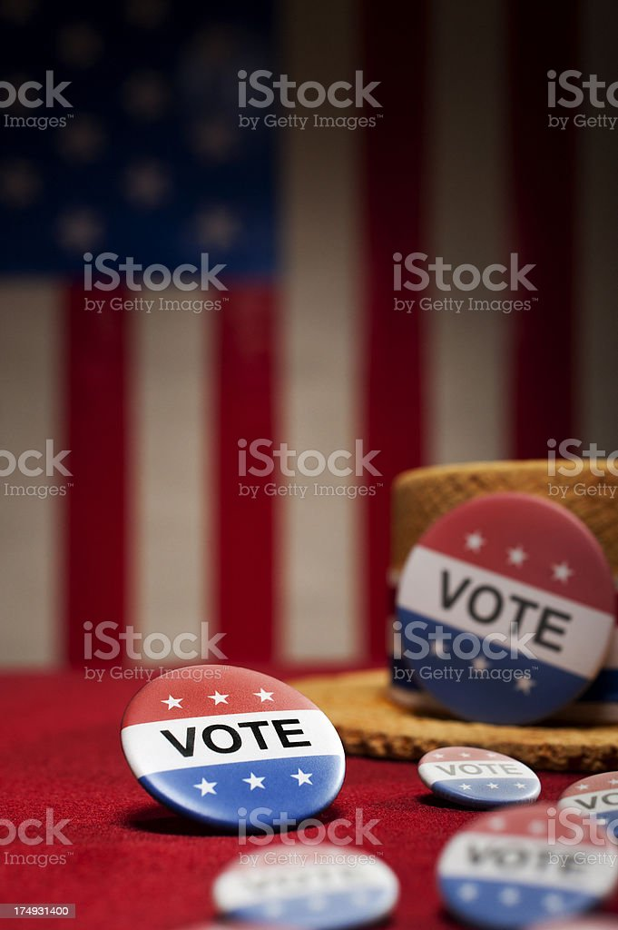 Political Rally - Vote royalty-free stock photo