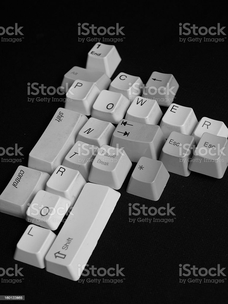 A political Statement stock photo
