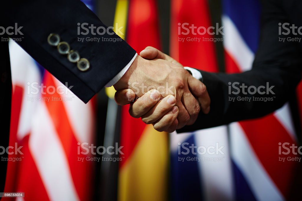 Political unity stock photo