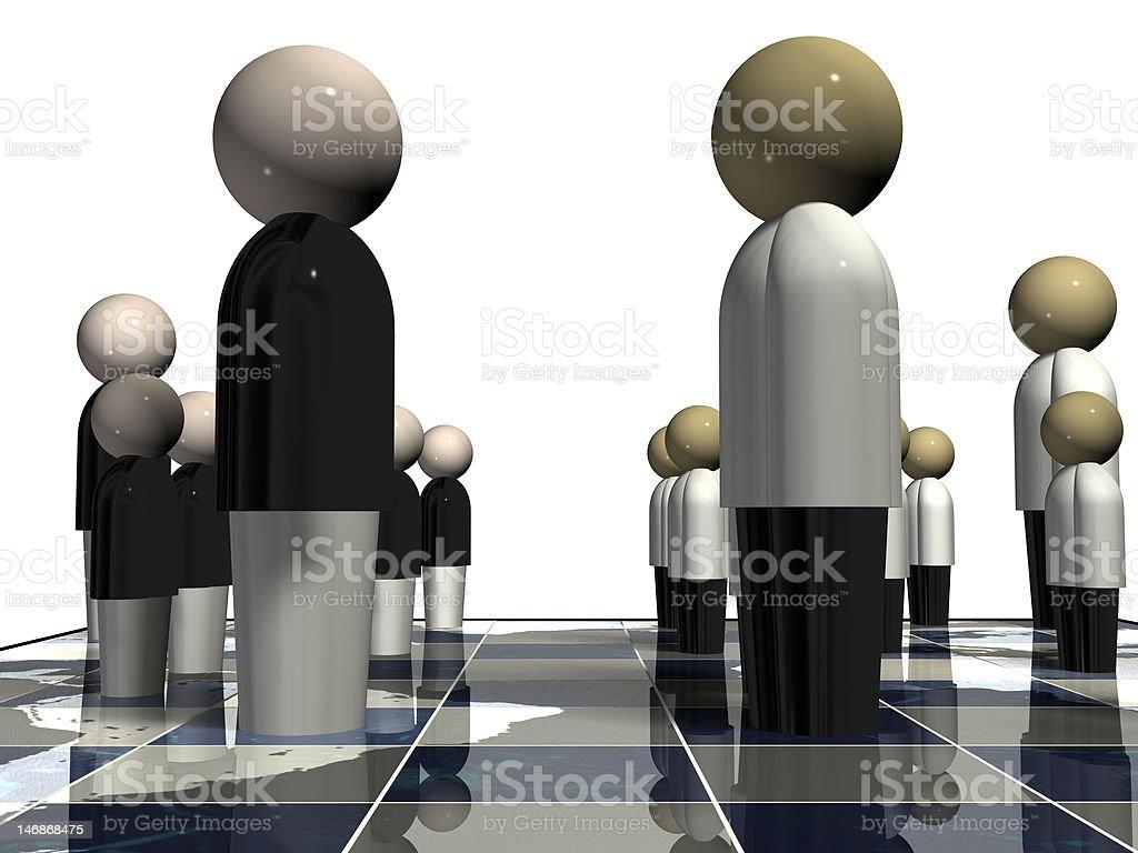 Political World Chess stock photo