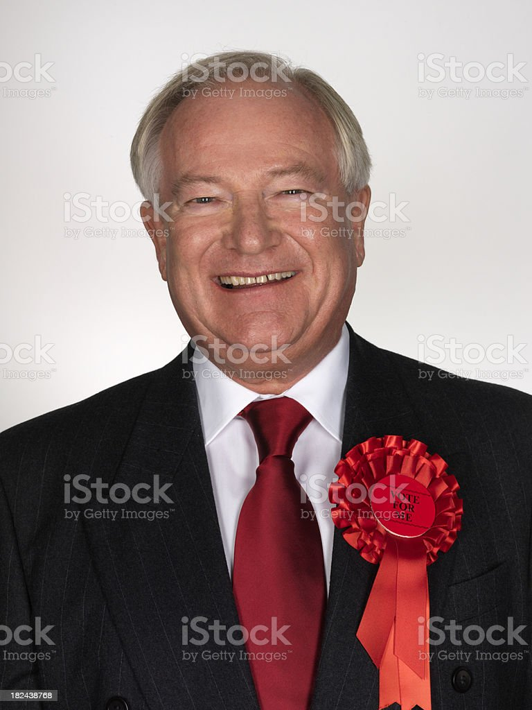 Politician stock photo