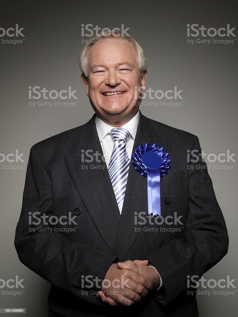 Politician royalty-free stock photo
