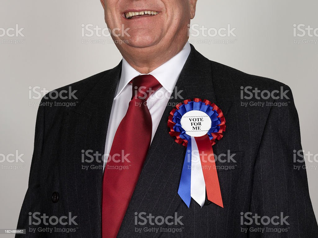 Politician royalty-free stock photo