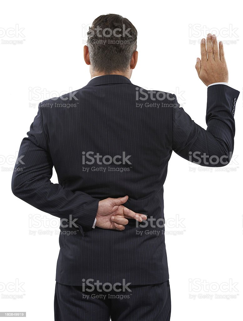 Politician's honour stock photo