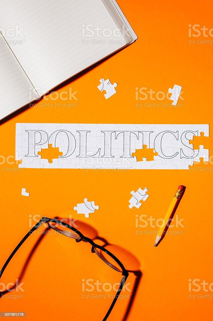 Politics stock photo