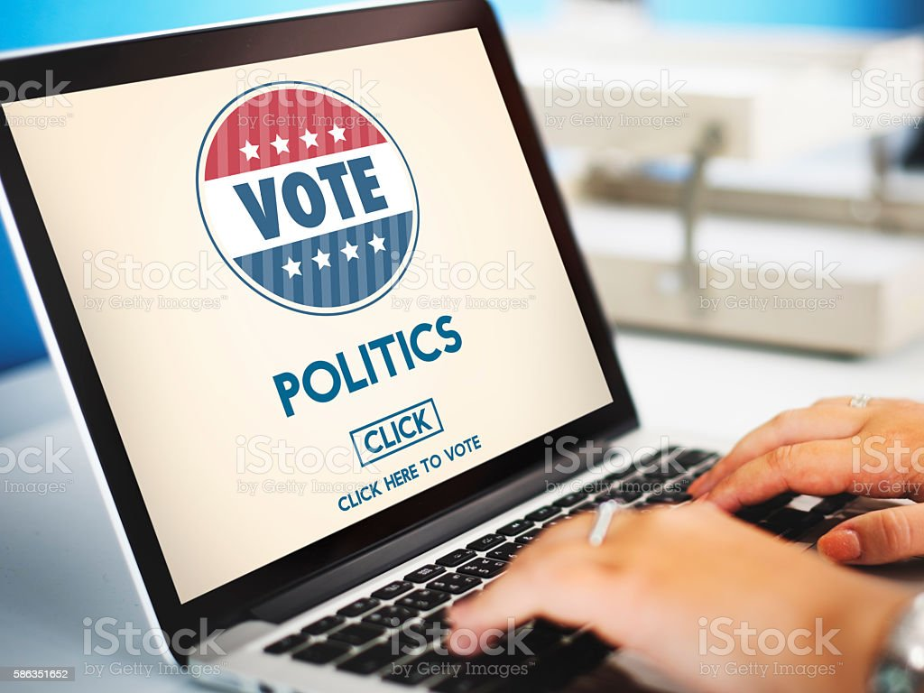 Politics Vote Election Government Party Concept stock photo