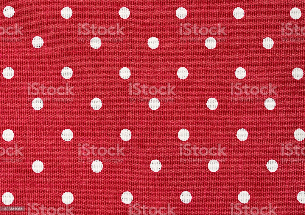polka dot close up for background stock photo