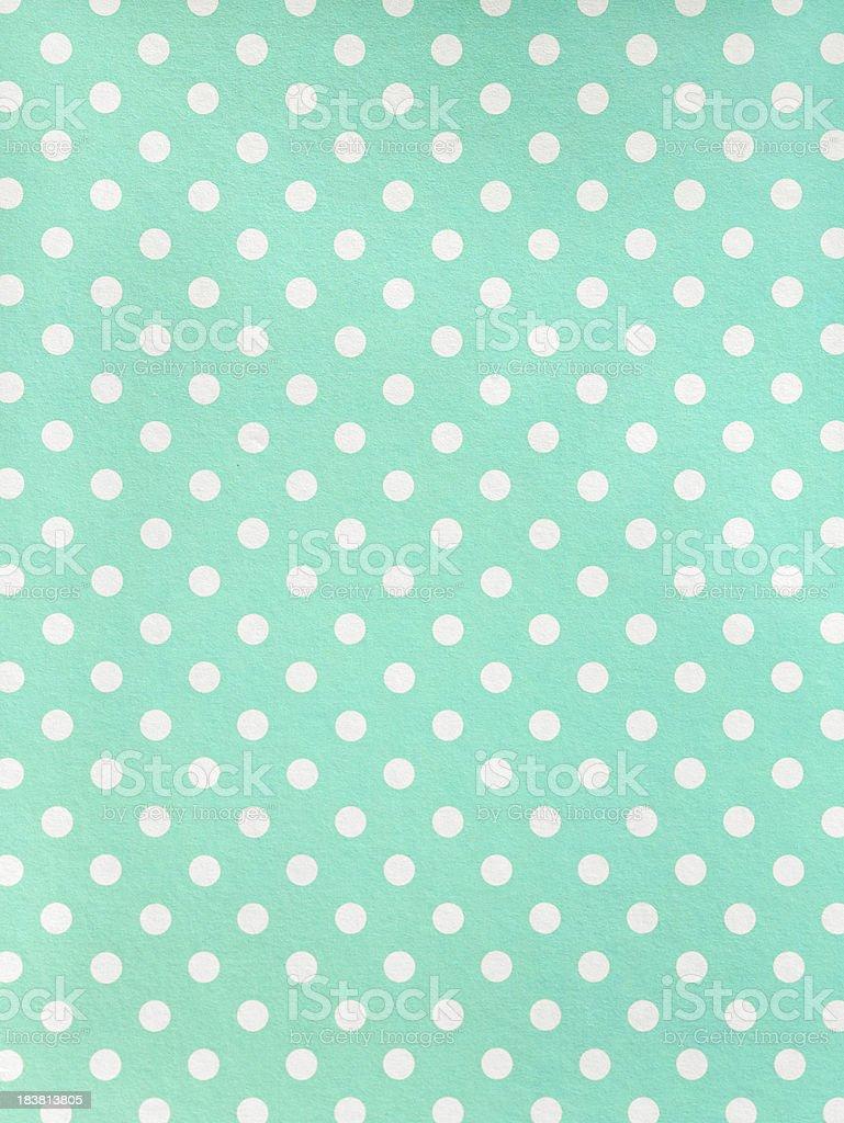 Polka dot Paper stock photo