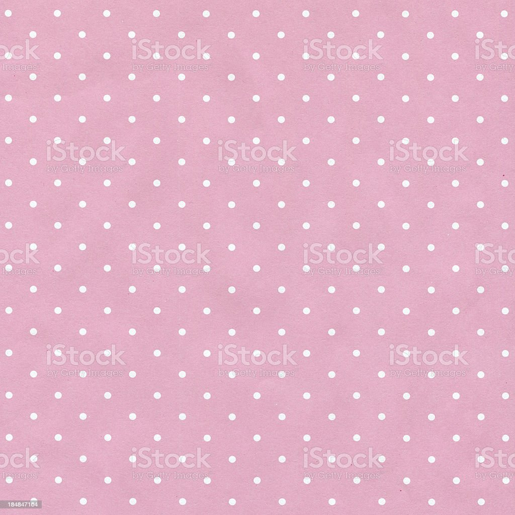 Polka dot Paper textured background stock photo