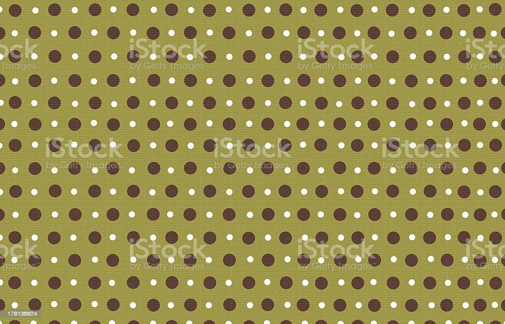 polka dot with green pastel color background royalty-free stock photo