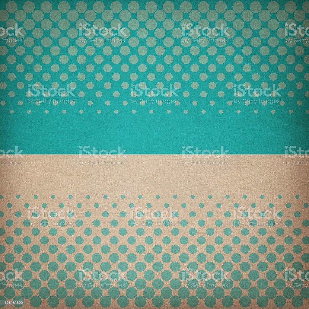 Polka Dot-Patterned Paper royalty-free stock photo