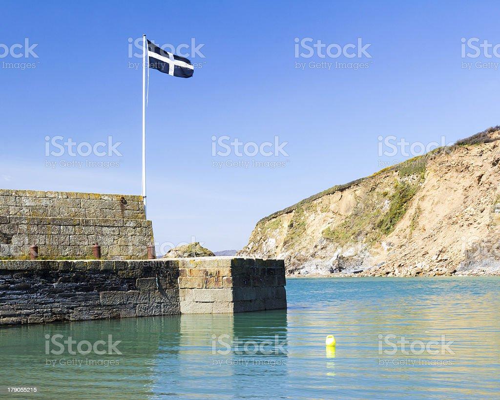 Polkerris Cornwall photo libre de droits
