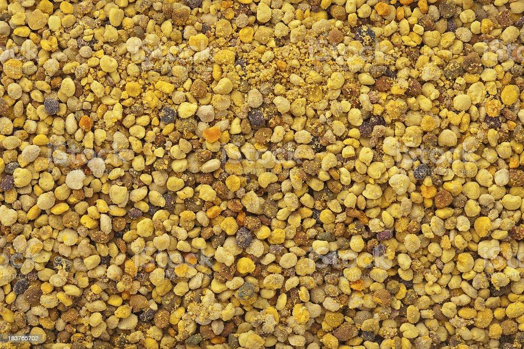 Pollen Grain Background stock photo