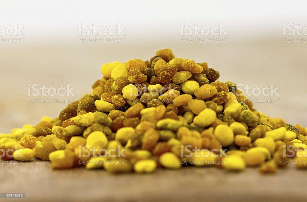 Pollen stock photo