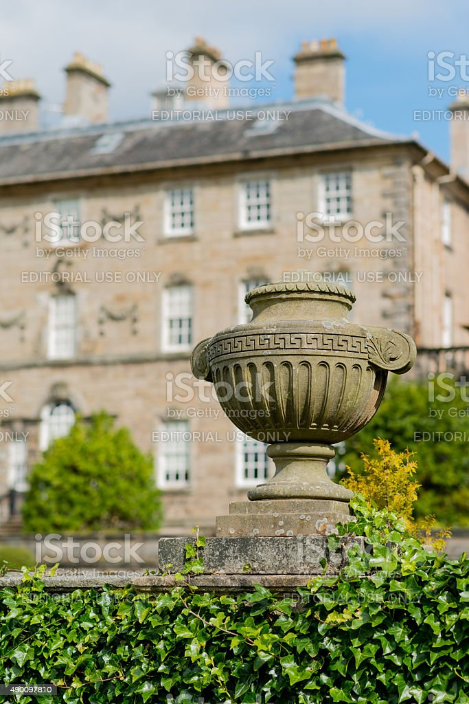 Pollok House stock photo