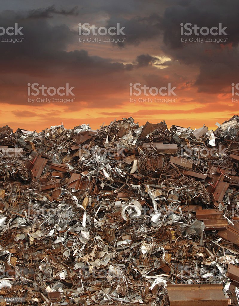 Pollution and Global Warming stock photo