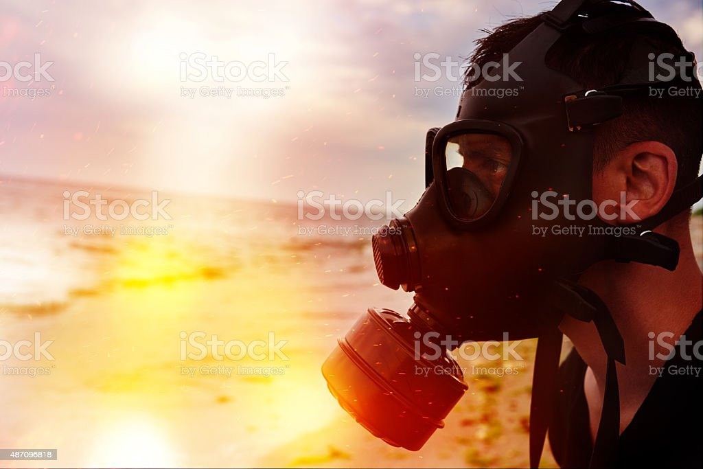 pollution and toxic environment stock photo