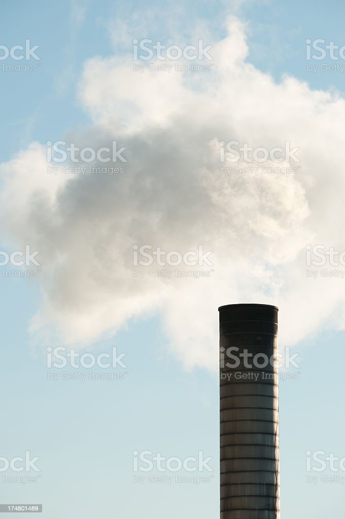 Pollution Concept royalty-free stock photo
