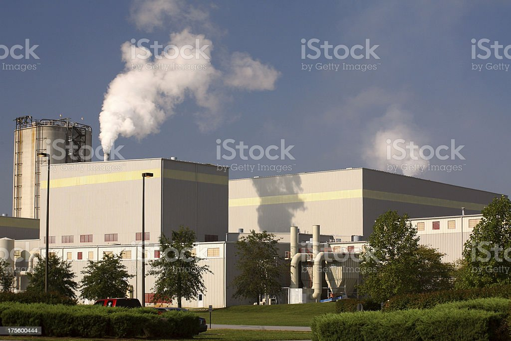 Pollution Global Warming royalty-free stock photo