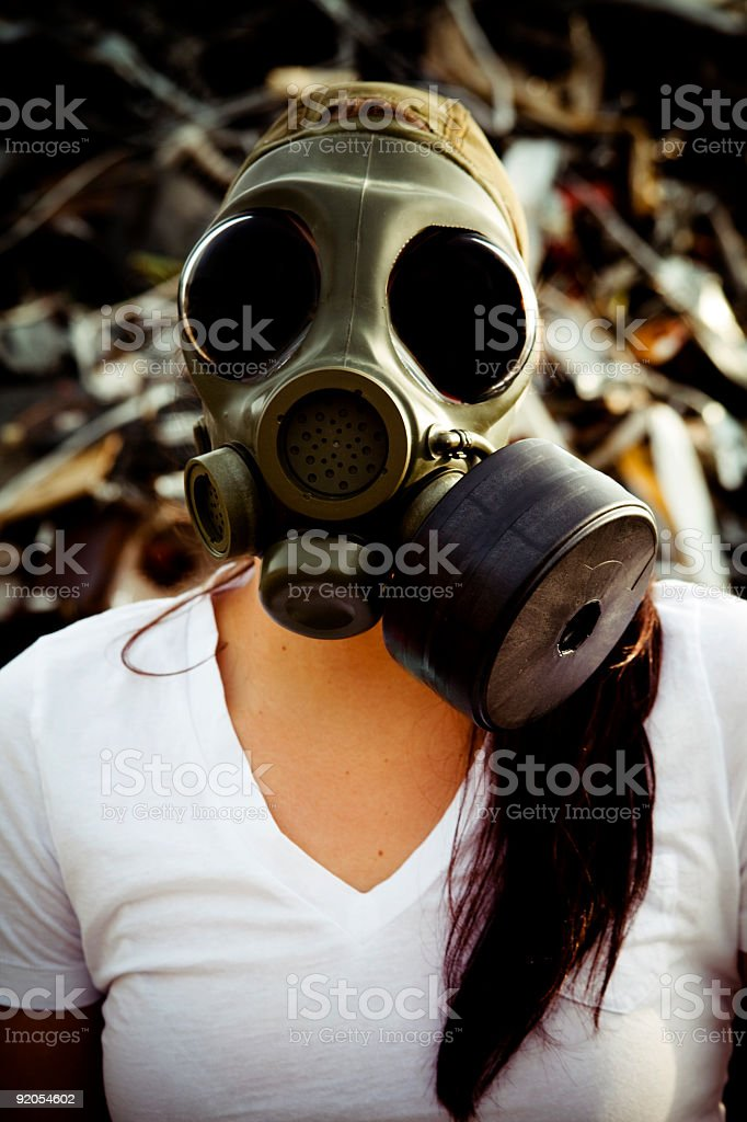 Pollution in the world royalty-free stock photo