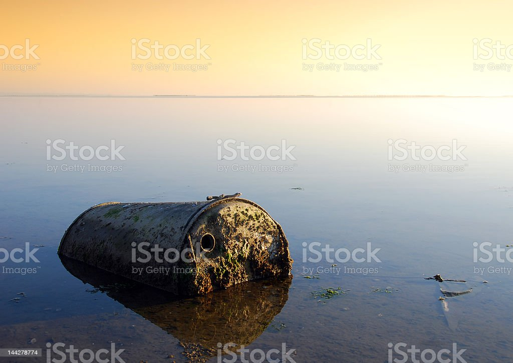 pollution royalty-free stock photo