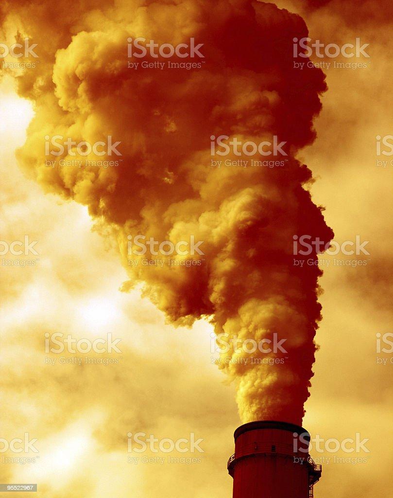 Pollution stock photo