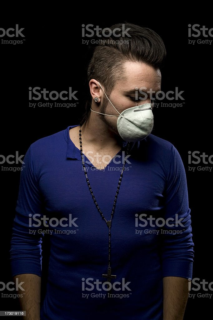 Pollution Portraits royalty-free stock photo