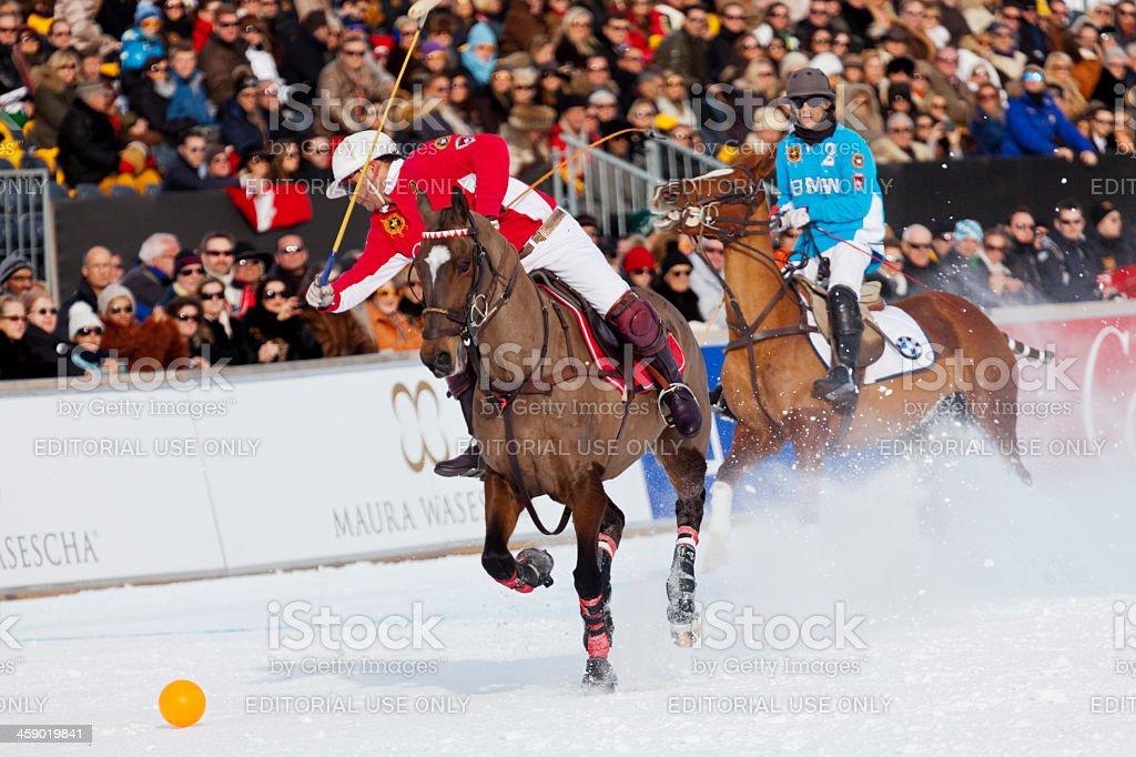 Polo Defense royalty-free stock photo